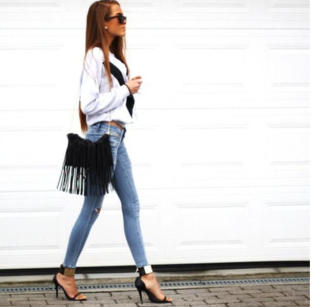 jeans gorgeous bag