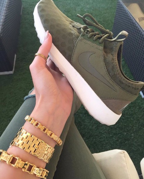 1df49683922c shoes army green nike roshes nike shoes nike nike running shoes olive green  green army green