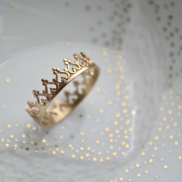 jewels gold princess ring