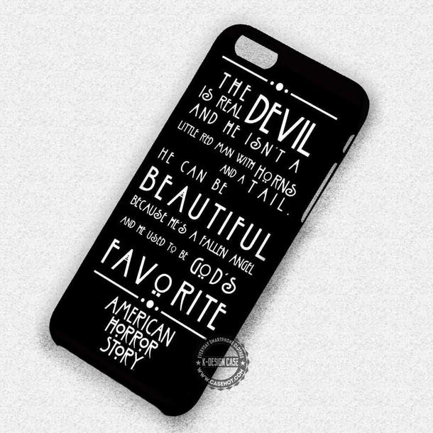 phone cover, movies, american horror story, quote on it phone case ...