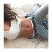 underwear,calvin kline sports bra,white crop tops