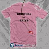 t-shirt,fashion,burger and fries,shirt,tumblr