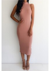 turtleneck dress,dusty pink,bodycon,bodycon dress,knitted dress,nude sandals,ankle strap heels,ankle strap,classy,office outfits,midi dress,midi,turtleneck,nude nail polish,pink dress,dress,nude shoes,Midi summer knit dress,blush pink,blush,ribbed,mockneck,nude,casual dress,party dress,sexy party dresses,sexy,sexy dress,party outfits,sexy outfit,summer dress,summer outfits,spring dress,sping outfits,spring outfits,fall dress,fall outfits,winter dress,winter outfits,holiday dress,holiday season,christmas dress,new year dresses,classy dress,elegant dress,cocktail dress,cute dress,girly,girly dress,date outfit,birthday dress,clubwear,club dress,homecoming,homecoming dress,wedding clothes,wedding guest,engagement party dress,romantic dress