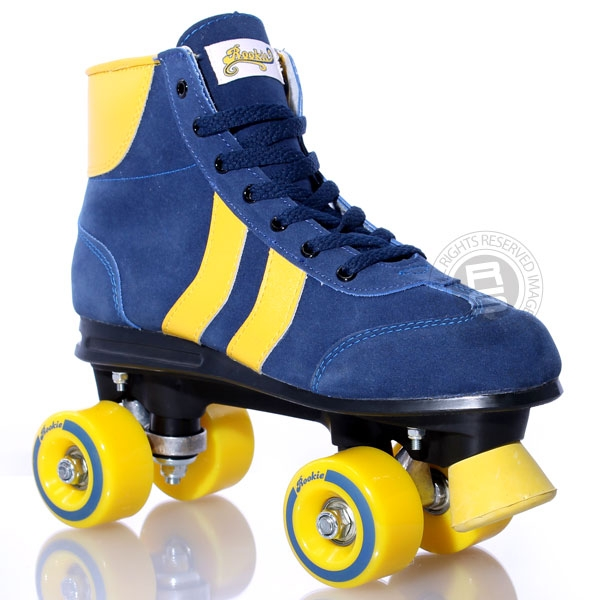 roller skates blue