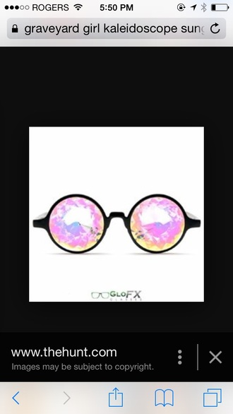 sunglasses kaleidoscope sunglasses round sunglasses round frame retro retro sunglasses