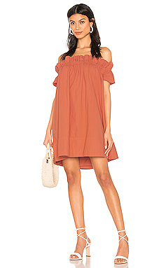 Free People Sophie Dress in Terracotta from Revolve.com