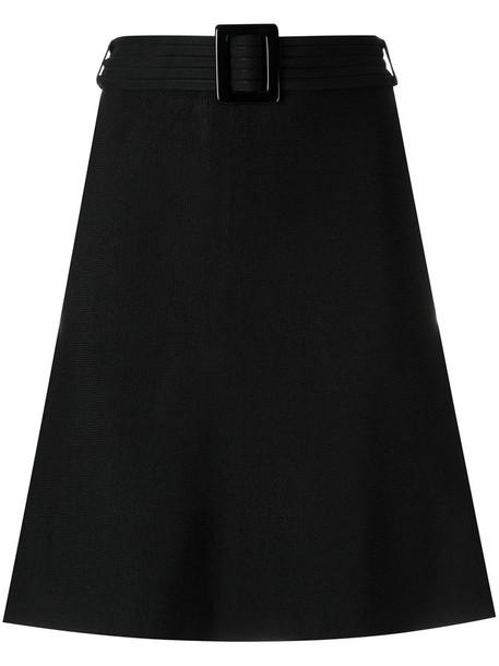 skirt women spandex black