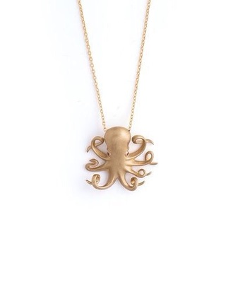 jewels octopus necklace gold necklace