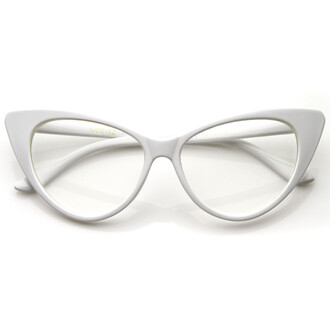 sunglasses clear frames eyewear white frames white glasses