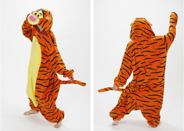 jacket tigger animal onesies