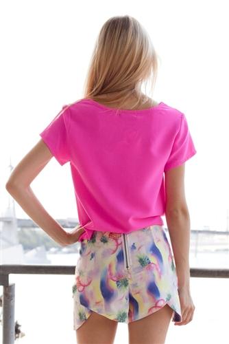Shop Fashion Avenue - Tropical Punch Shorts