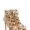 Generation z faux nubuck heels olive black nude - gojane.com