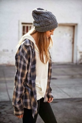 shirt flannel shirt checkered cozy style want want want! cute hair accessories