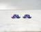 New moustache earrings, galaxy earrings, modern fashion handmade jewelry on luulla
