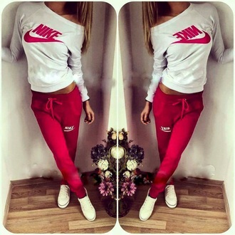 sweater style nike sweater nike running shoes nike jacket pants nike nike air women nike tracksuit shirt pajamas nike pants sweatpants tight red red sweatpants red nike nike tight white pretty sportswear fit yoga yoga top t-shirt nike pro leggings jumpsuit blouse nike clothing tracksuit