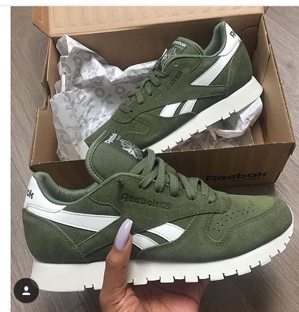 Reebok Classic CLASSIC - Trainers - green sMHNwH