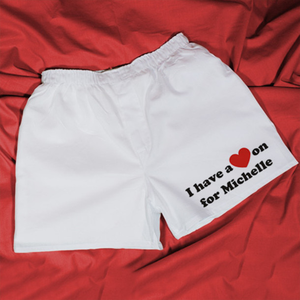 Underwear Boxers Briefs Mens Boxers Valentine Day Mens Boxers