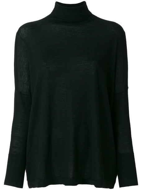 N.Peal jumper women black sweater