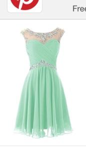dress,$99,prom dress,mint prom dress,bridesmaid,mint bridesmaid dress,party dress,homecoming dress,graduation dress,light blue,short prom dress,short mint prom dress,short bridesmaid dresses,cocktail dress