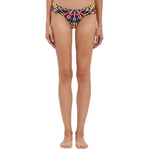 Mara hoffman supernova ruched bikini bottom at barneys.com