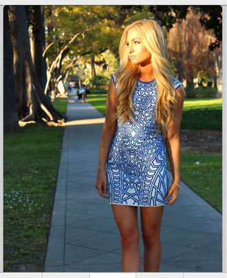 blue dress patterned pattern aztec print printed short graduation spring tight lovely amazing blue white prom dress graduation dress dress bodycon dress hipster shift dress tribal pattern asymmetrical patterned dress tumblr summer outfits prom sexy sexy dress little black dress arrow beach party outfits classy streetwear color/pattern colorful colorblock hairstyles hair/makeup inspo blonde hair summer dress summer summer crush spring break spring outfits spring dress green nature natural hair rvn trendy fashion pretty trendsetter
