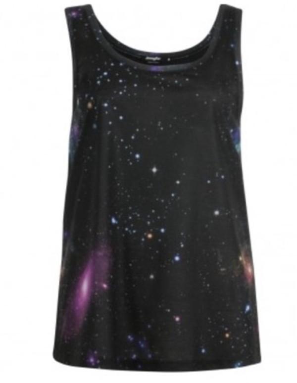shirt t-shirt galaxy print