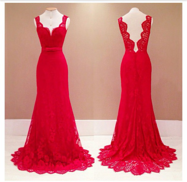 dress prom dress beautiful red dress open back dresses prom gown lace dress dress pants red prom dress long dress bodycon dress slimfit prom dress 2016 long prom dress red prom dress lace prom dress evening dress party dress