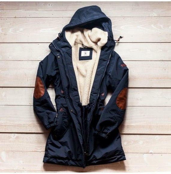 jacket elbow patch winter outfits parka hooded hooded jacket