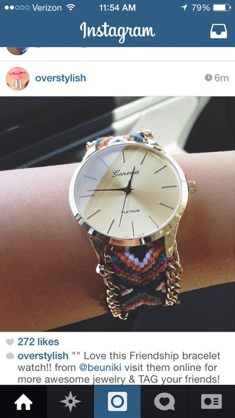 sunglasses watch colorful