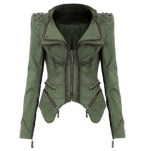 Rebel & Studded Jean Jacket