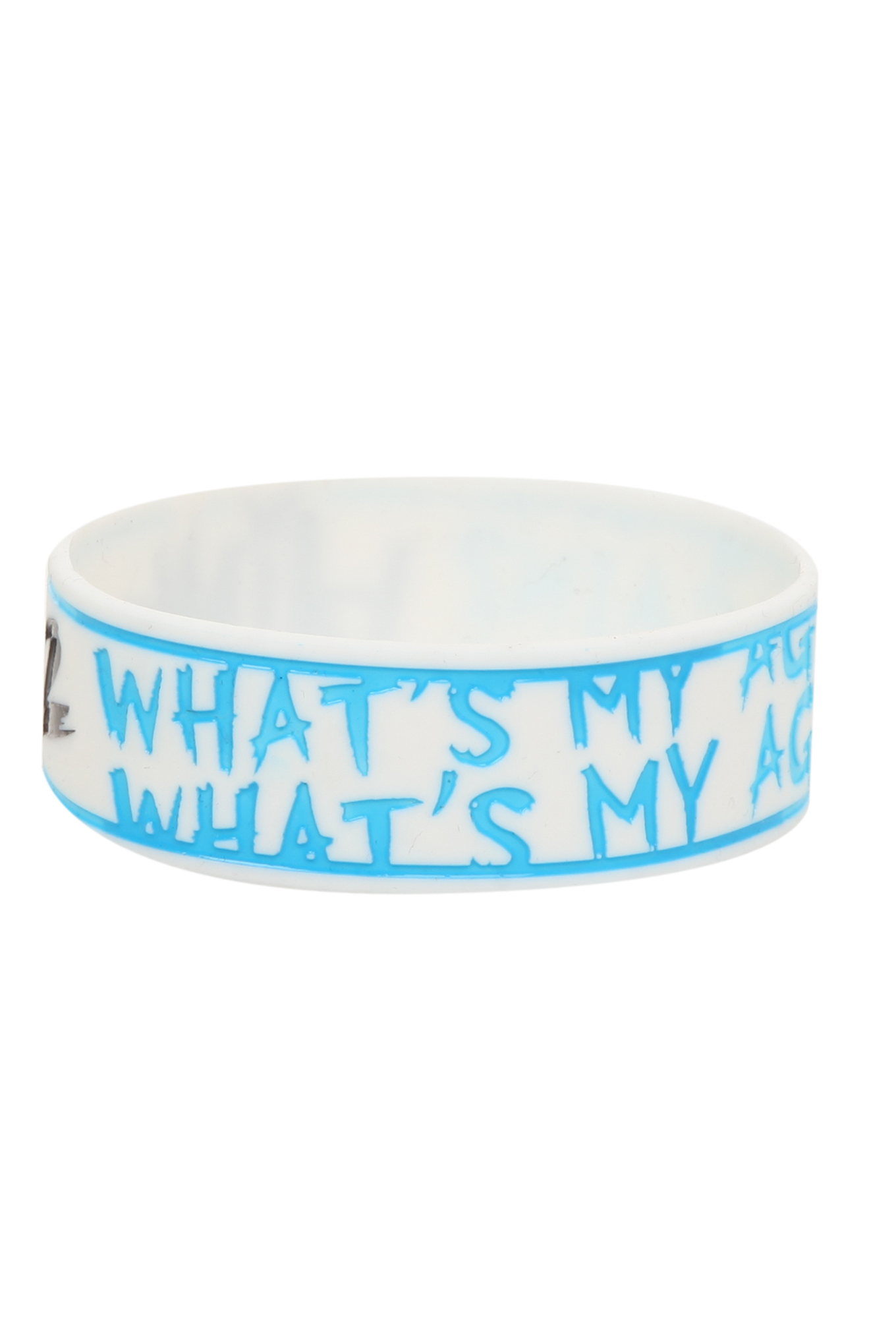 Blink-182 What's My Age Again? Rubber Bracelet | Hot Topic