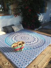 home accessory,mandala,round mandala,round sunglasses,blue mandala,hippie,hippie chic,hipster,boho,bohemian,boho chic,boho dress,wall decor,wall tapestry
