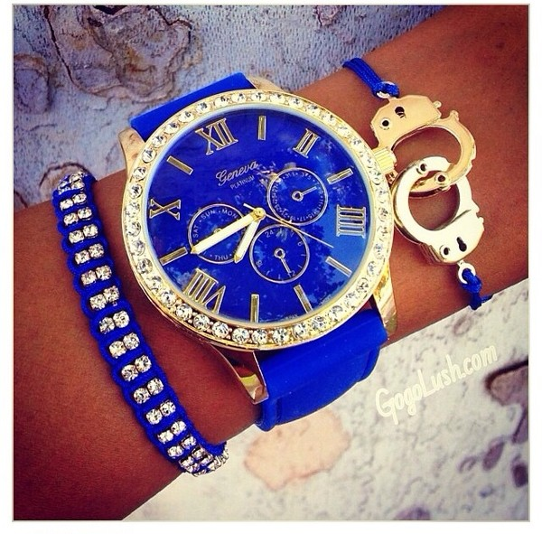 jewels royal blue bracelets
