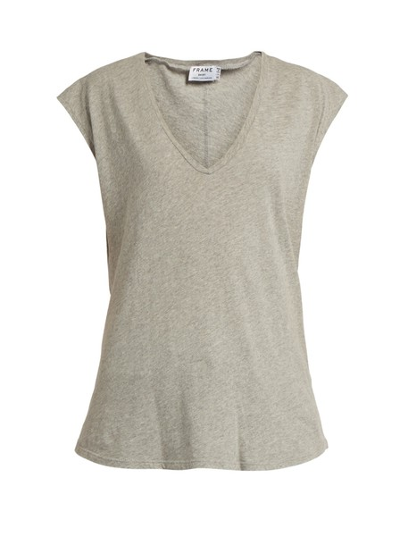 t-shirt shirt t-shirt cotton grey top