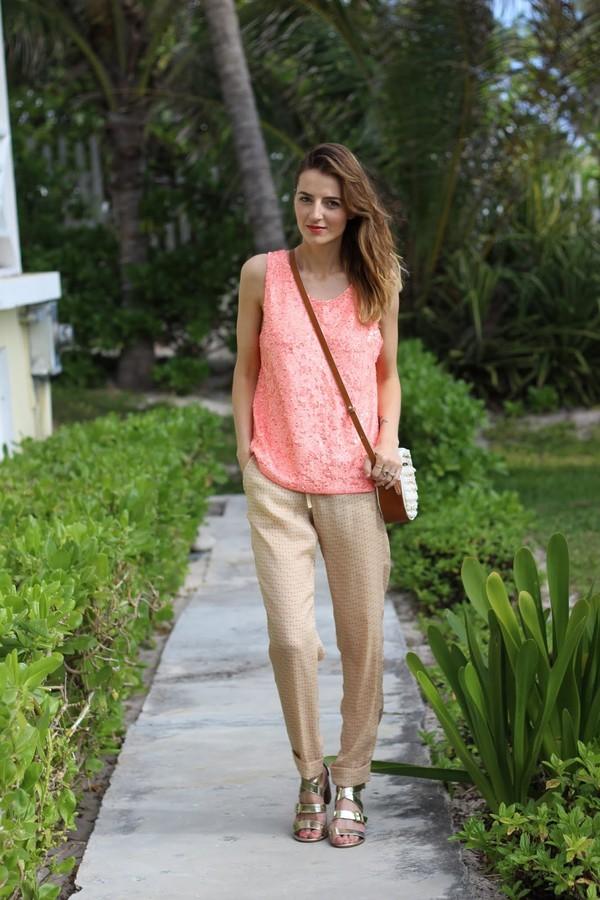 jess style rules bag shoes pants tank top