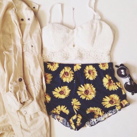 yellow flowers sunflower black