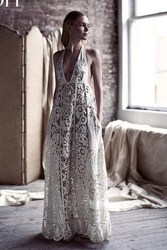 dress boho wedding dress editorial kate bosworth lace dress lace