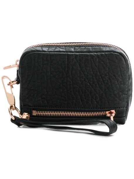 women purse leather black bag