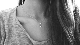 jewels moon necklace necklace jewelry moon