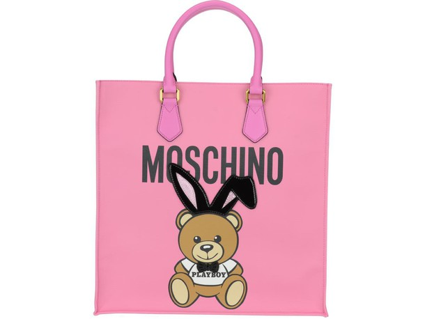 Moschino bear bag pink