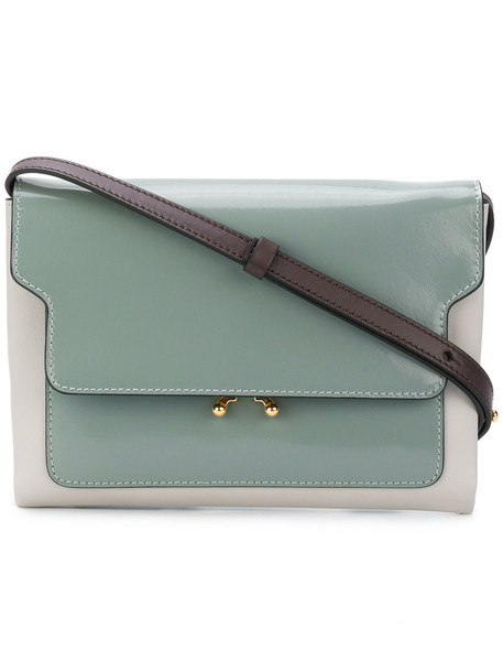 MARNI women bag shoulder bag leather grey