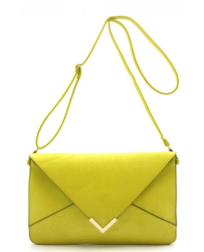 Trendy Clothing, Fashion Shoes, Women Accessories | Super Chic Yellow Clutch  | LoveShoppingMiami.com