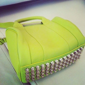 bag bright pretty great style neon awesome bag