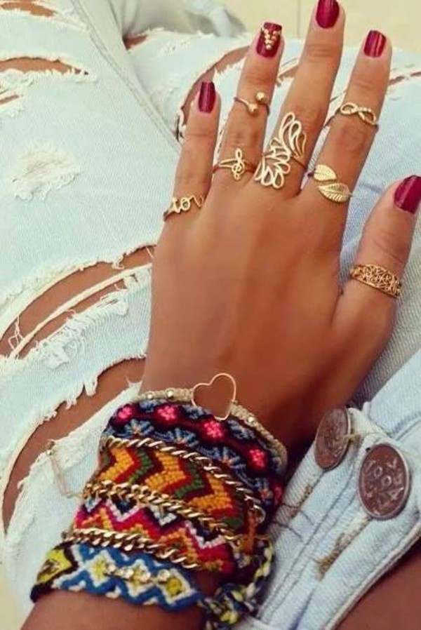jewels ring knuckle ring