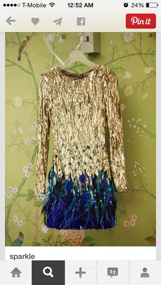 sequin dress sequins gold dress