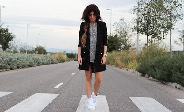 madame rosa blogger jacket jewels dress shoes