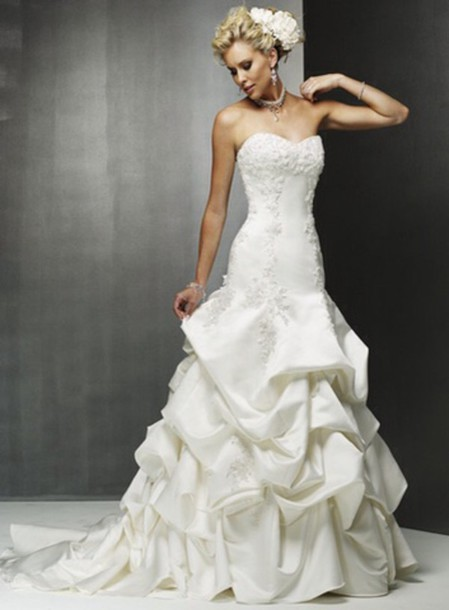 dress mermaid princess wedding dress