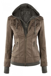 jacket,fall outfits,fashion,brown,trendy,long sleeves,hoodie,beautifulhalo
