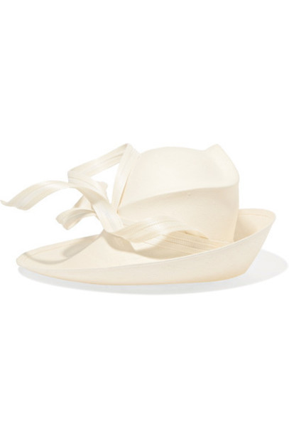 Philip Treacy hat straw hat