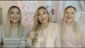 top,pastel pink,pink,all pink everything,instagram,niki and gabi,scream queens,christmas,tumblr,youtuber,girly,girly wishlist,chic